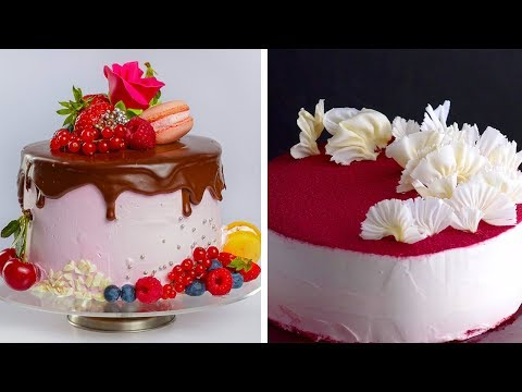 10 Easy Chocolate Cake Decoration Ideas!! How to Garnish by So Yummy