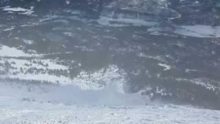 Saddle Peak Avalanche - 16 February 2010