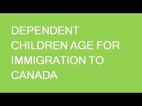 Dependent Child Age For Immigration To Canada Increases To 22y.o!