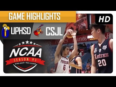 Perpetual Altas vs. Letran Knights | NCAA 93 | MB Game Highlights | August 11, 2017