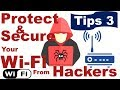 How to Secure/ Protect WiFi from Hacker Tips 3 - Hide  Wi-Fi Network
