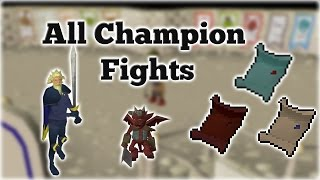 All Champion Scrolls Obtained - Champion Fights + Rewards | Oldschool Runescape thumbnail