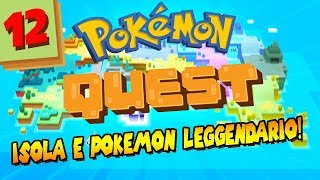#FINALE POKEMON QUEST - Isola e Pokémon LEGGENDARIO. | Gameplay Pokèmon Quest Nintendo Switch