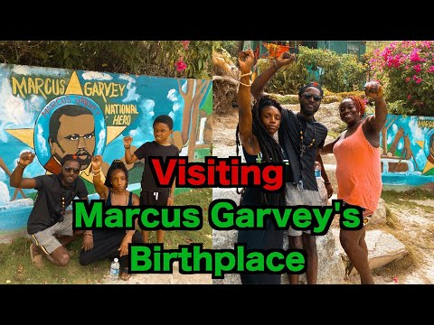 Visiting Marcus Garvey's Birthplace in St. Ann's Jamaica