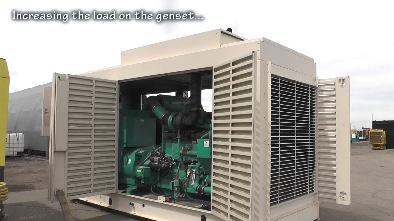 Cummins 500 kW Diesel Generator Set Used 480 Volt Standby
