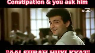 Funniest Compilation of Bollywood Song I Aati Nahi