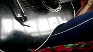 Под небом Парижа-Я на гитаре(видео, добавленное с мобильного телефона., 2013-08-12T03:45:44.000Z)