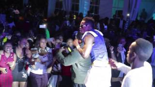 Diamond in concert at the Carnivore Restaurant in Nairobi, Kenya