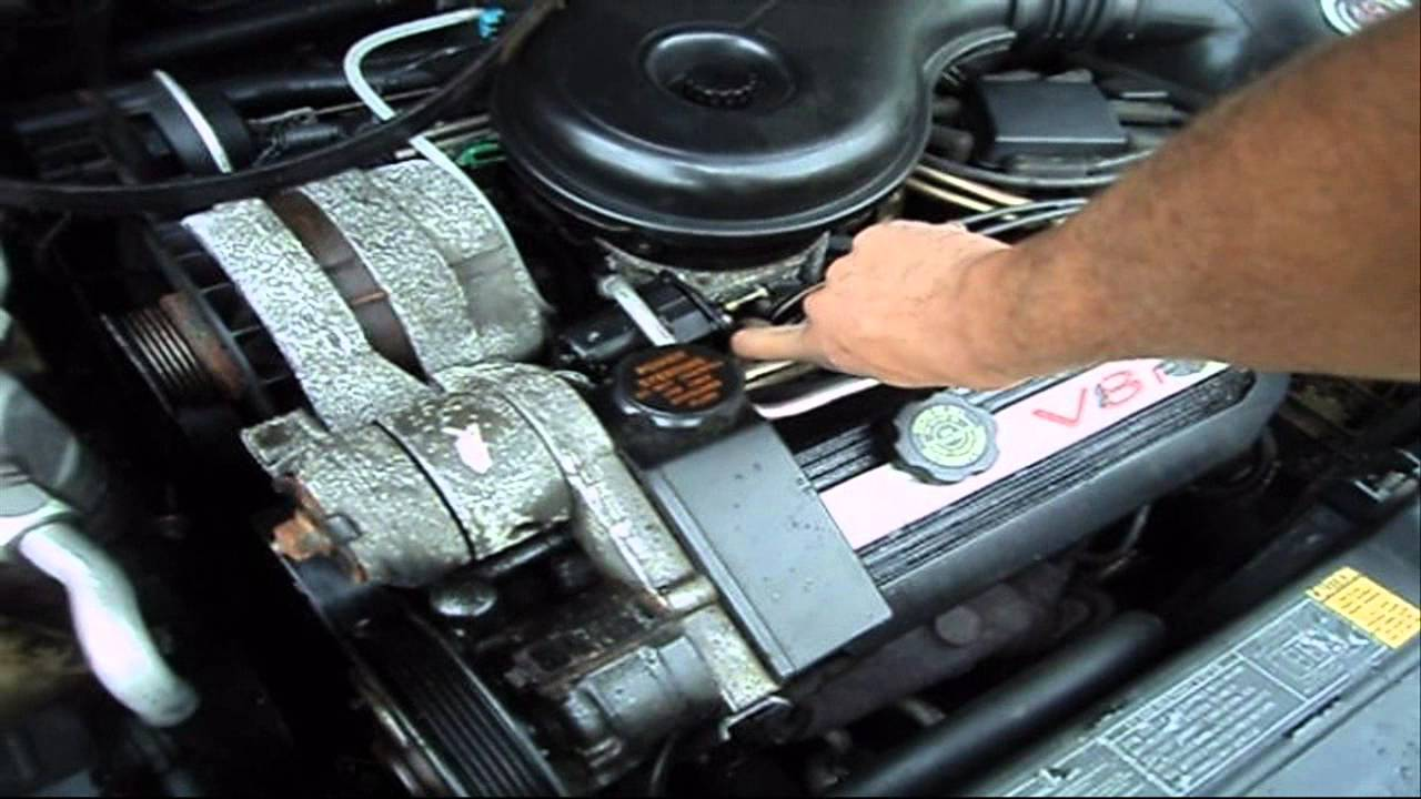 October Start up 1994 Cadillac DeVille YouTube