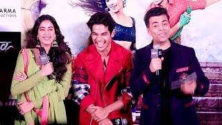 Dhadak Trailer Launch Complete Video HD-Sridevi