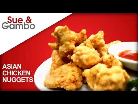 asian chicken nuggets