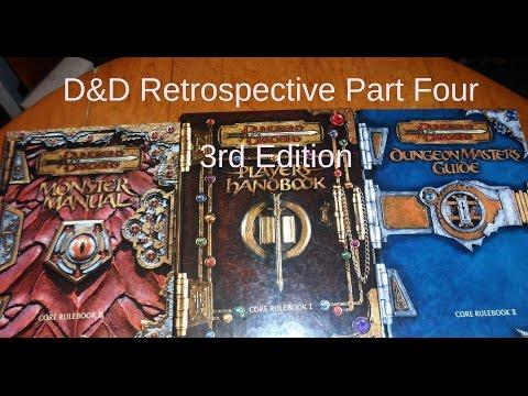 Dungeons & Dragons Retrospective Episode Four: D&D 3rd Edition