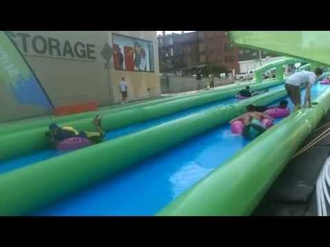 Celebrate Holyoke, MA - Slide the City 2015