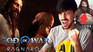 ANÁLISIS TRAILER GOD OF WAR RAGNAROK PS5