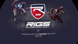 RIGS gameplay