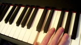 Как играть на пианино Артур Пирожков - #Как Челентано (Видео-урок. Часть 2)