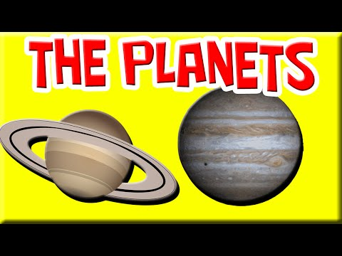 Solar System Song Learn the Planets Song Space for Kids ...