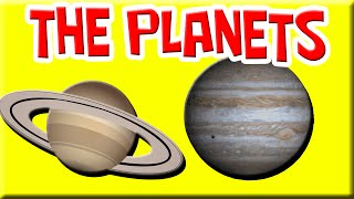 PLANETS for Kids | Astronomy for Kids | Solar System | Planets Preschool | Kid's Planet, The Planets