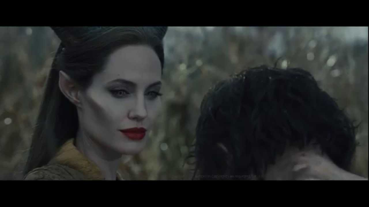 Maleficent Meets Diaval And Turns Him Into A Man To Save Him Hd 720p