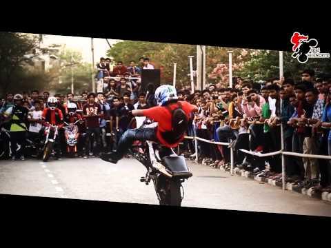 Steel Silencerz STUNT show at MNIT college jaipur