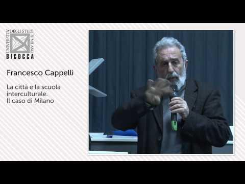 prof.Francesco Cappelli , Assessore all'Educazione Comune di Milano