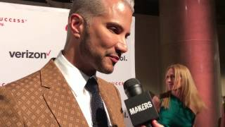 Jay Manuel on the red carpet