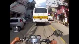 Rio de Janeiro Rocinha moto taxi ride to Rua 1 Rocinha Guesthouse