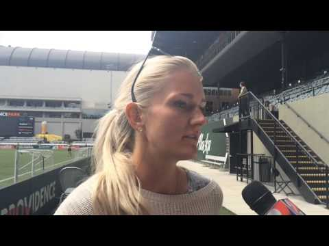 Portland Thorns Midfielder Kaylyn Kyle On Growth Of Women's Soccer: Video