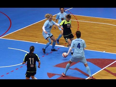 Göcsej SK Sport 36 -  Árkád ETO NB I női futsalmérkőzés 1fel 17.04.08 (szo.) 20:00