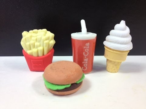 Ice cream coca cola burger french fries like mcdonald 39 s for Play doh cuisine