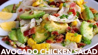 Salads: Avocado Chicken Salad Recipe - Natasha's Kitchen
