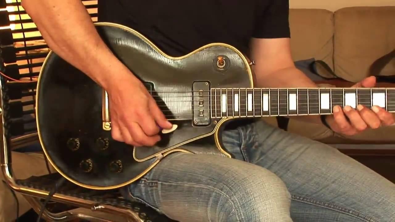 51eacfc8a1a299 1955 Gibson Les Paul Custom Part1 - YouTube