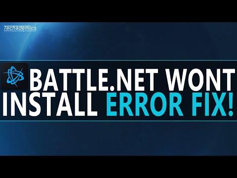 How To FIX Battle.Net Installation Error