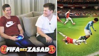 ROBERT LEWANDOWSKI 🔥 FIFA BEZ ZASAD!