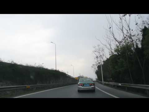 20170130_Driving out of Hangzhou