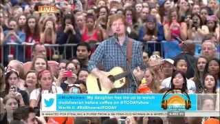 Ed Sheeran- Sing [Today Show 7/4/14]