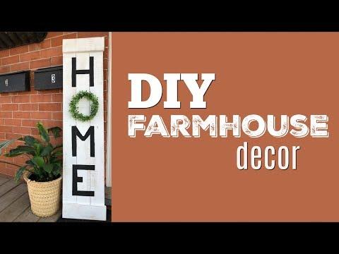 DIY Farmhouse Pallet Sign