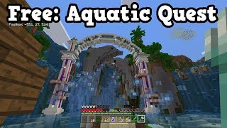 The Aquatic quest released yesterday, and here is a full playthrough For Minecraft Xbox One, Minecraft Windows 10, as well as Minecraft Pocket Edition ...