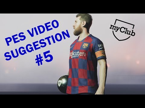 PES Video Suggestion #5 - New Myclub Pack Opening