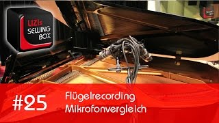 #25 Lizis Sewing Box - Flügelrecording Mikrofonvergleich (schoeps, Sennheiser, Neumann, Oktava)