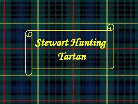 Crochet Stewart Hunting Tartan