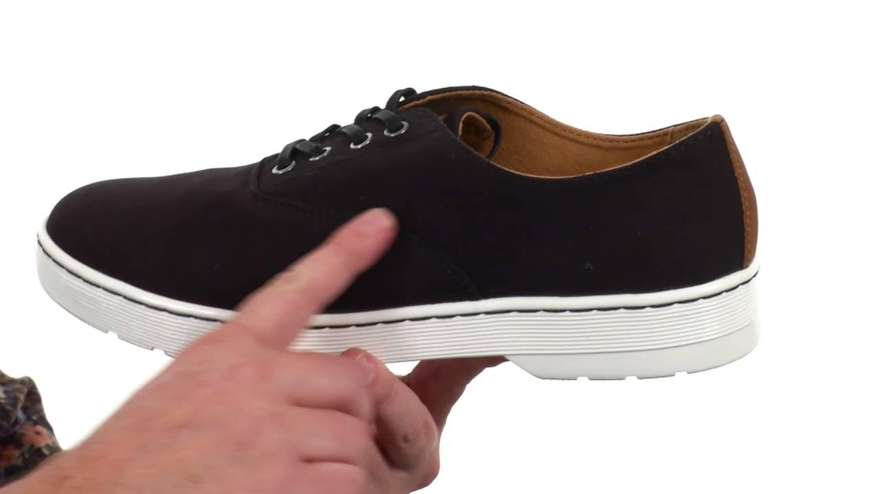 96dc4344f50 Dr. Martens Lakewood 4-Eye Canvas Oxford Shoe SKU:8728585
