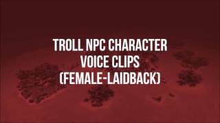 World of Warcraft - All Troll NPC Quotes (Male & Female)