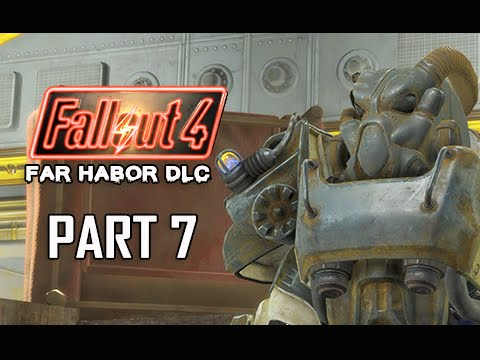 Fallout 4 Far Harbor DLC Walkthrough Part 7 - Robot Mystery Murder (PC Ultra Let's Play)