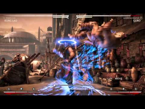 MKX: Kung Lao Tempest  NJPx4 (New Tech) (By ETC Mcfly)