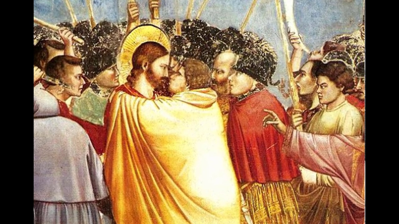"Image result for ""The Kiss of Judas."""