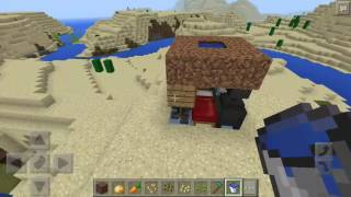 Minecraft pe: how to build a tiny house