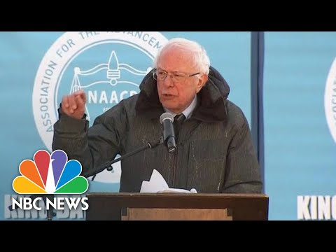Bernie Sanders: 'We Now Have A President Of The United States Who Is A Racist'   NBC News