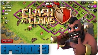 "Dansk Clash of Clans - Episode 3 "" Lvl. 2 Hogz + Ny Clan!"""
