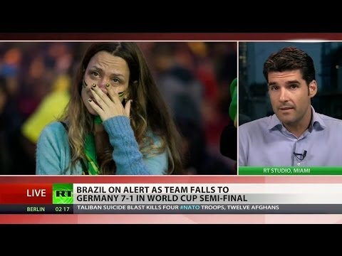 National catastrophe: Brazil in shock after horrendous defeat in World Cup